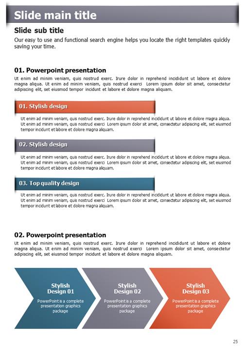 Idea presentation template four idea ppt template vertical goodpello toneelgroepblik Gallery