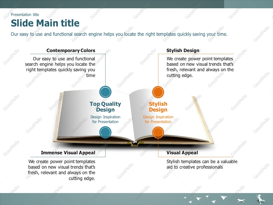 Books Powerpoint Template