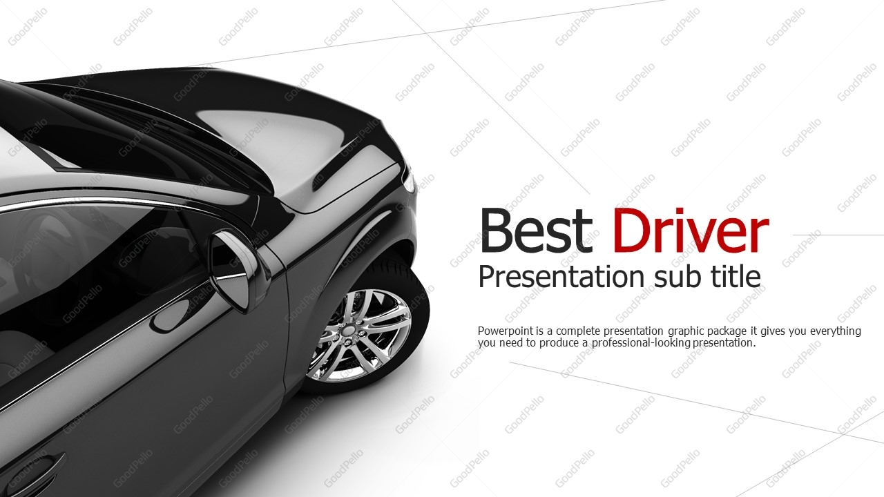 Car Powerpoint Template