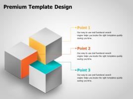 3D Cubes Venn Diagram