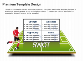 Soccer Theme Table Diagram