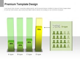 3D Transparency Column Chart