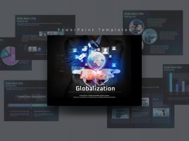 세계화 컨셉 피피티 템플릿