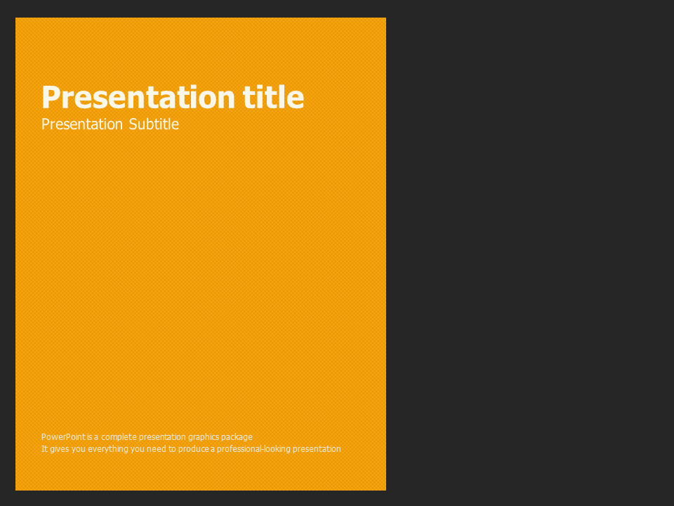 Yellow powerpoint template goodpello yellow powerpoint template toneelgroepblik Choice Image