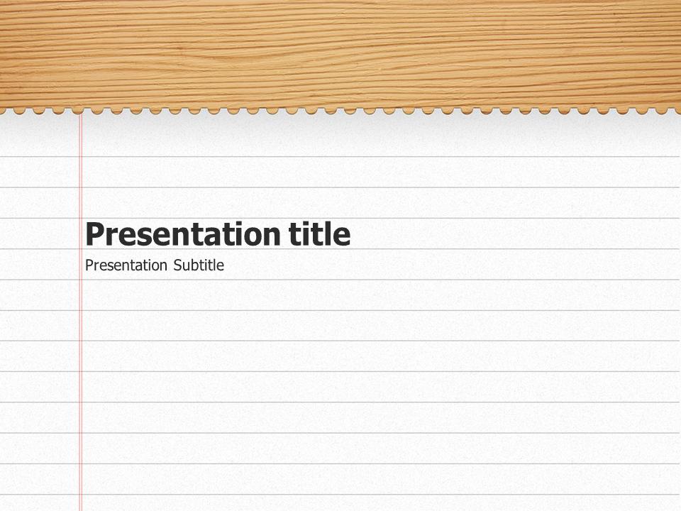 microsoft powerpoint slide template