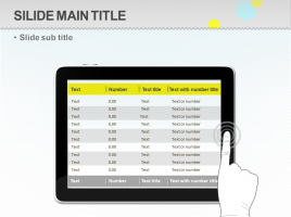 테블릿 모양 테이블 2