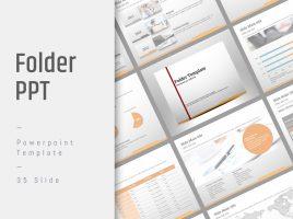 Folder Presentation Template