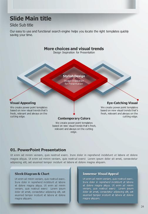 Frame Powerpoint Template Vertical Goodpello