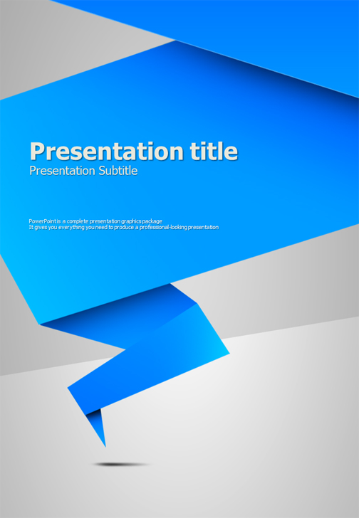 Origami powerpoint template vertical goodpello origami powerpoint template vertical toneelgroepblik Image collections