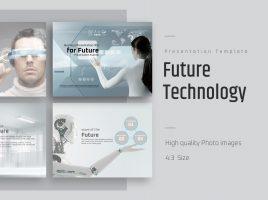 미래 배경의 파워포인트