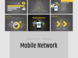 Mobile Network Animated PPT