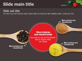 건강한 음식 테마 확산성 다이어그램