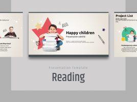 책읽는 어린이 와이드 파워포인트