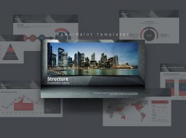3D Background Template Wide