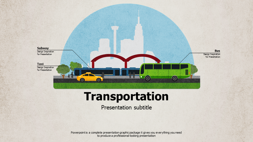 transportation ppt template wide goodpello