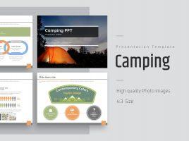 가족 캠핑 여행 파워포인트