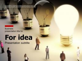 아이디어 발상을 위한 브레인스토밍 피피티