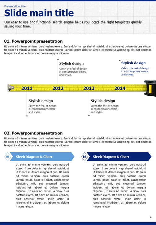Blueprint powerpoint template vertical goodpello malvernweather Images