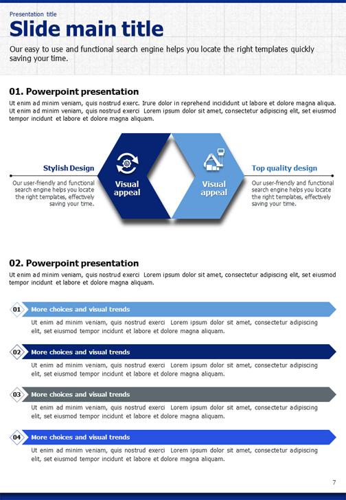 Blueprint powerpoint template vertical goodpello malvernweather Image collections