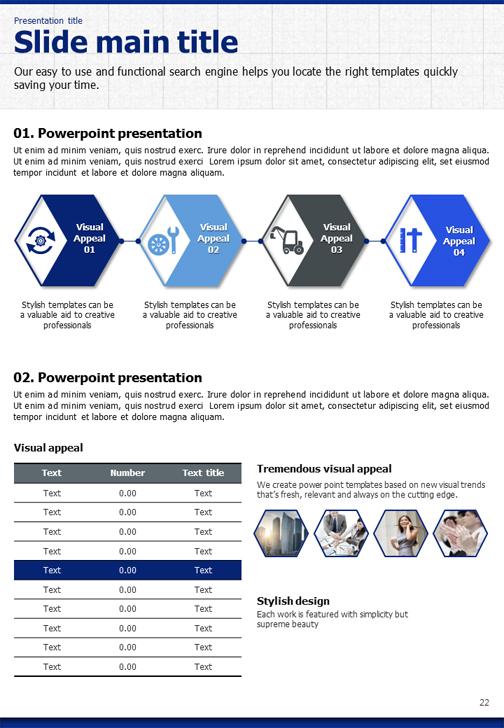 Blueprint powerpoint template vertical goodpello malvernweather Gallery