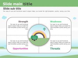 자연 테마 확산성 다이어그램