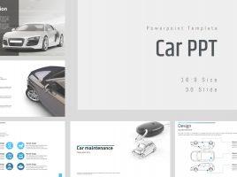 자동차 와이드 파워포인트 프레젠테이션
