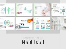 의료, 건강 관리 피피티 템플릿
