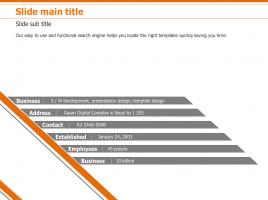 심플 그래픽 메트릭스 다이어그램 4