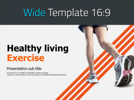 Exercise PPT Template Wide