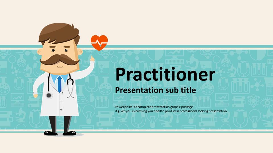 doctor powerpoint template wide goodpello