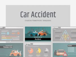 Car Accident PowerPoint Wide