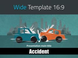 자동차 사고 와이드 피피티