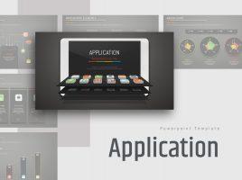 Application Presentation Template Wide