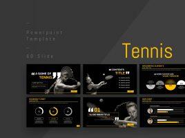 테니스 와이드 파워포인트