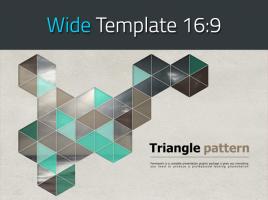육각형 패턴 와이드 템플릿