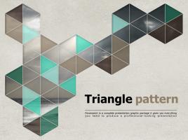 육각형 패턴 템플릿