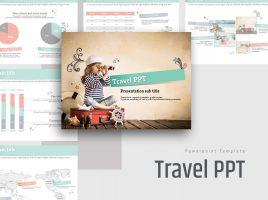 휴가 여행 계획 피피티 템플릿
