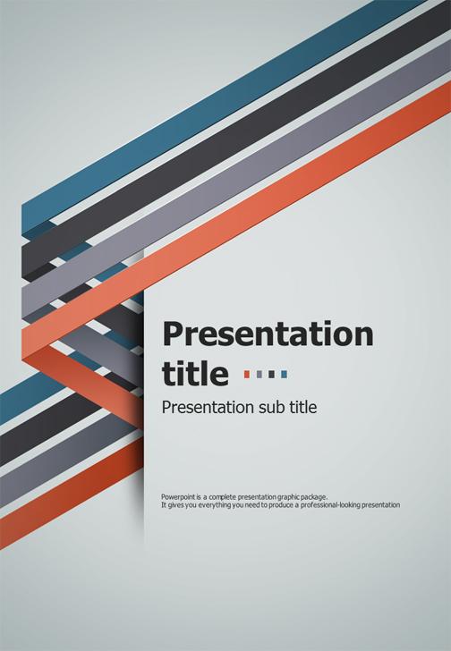001.Four-idea-ppt-template-cover-slide-v