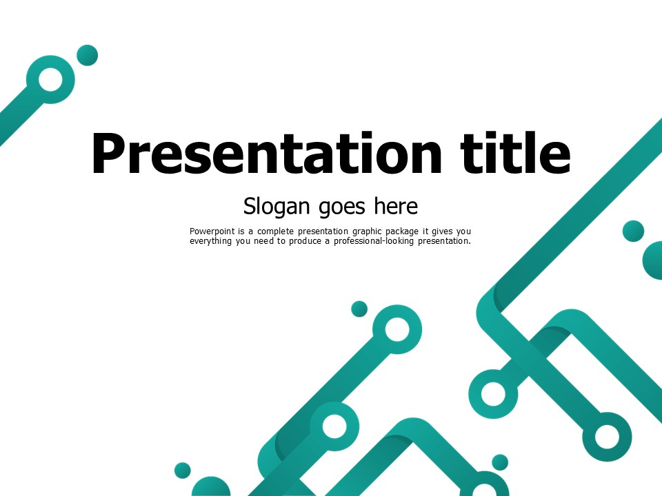 Free Circuit PowerPoint Template | Goodpello