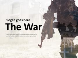 전쟁 파워포인트 템플릿
