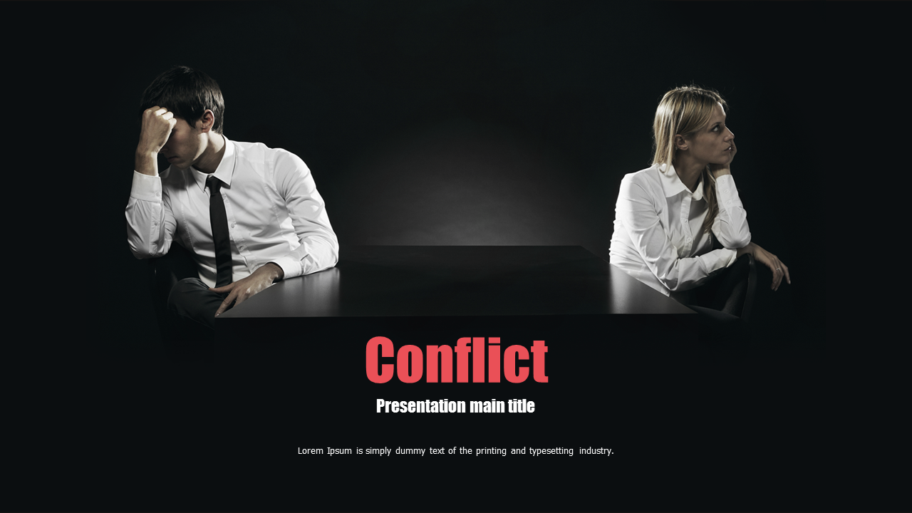 the presentation of conflict in war However, somatic presentations such as headaches, non-specific pains or  discomfort  the question of long term effects of war on mental health is beyond  the.