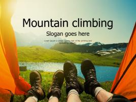 등산 레져 스포츠 파워포인트