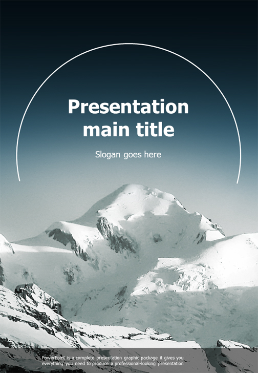 Mountain powerpoint template vertical goodpello mountain powerpoint template vertical toneelgroepblik Gallery