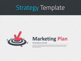 목표를 향한 마케팅 기획서 템플릿