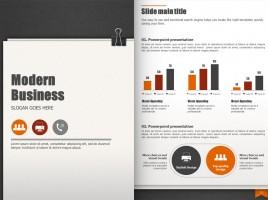 Modern Business Template Vertical