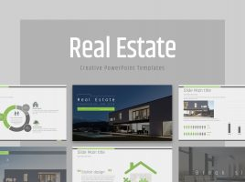 Real Estate PPT Template Wide