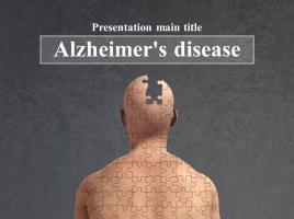 알츠하이머 애니메이션 프레젠테이션