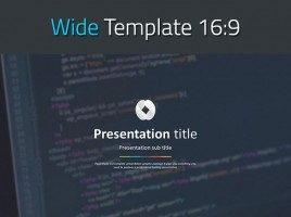 SEO PowerPoint Wide Template