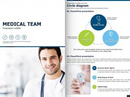 Medical PPT Vertical Template