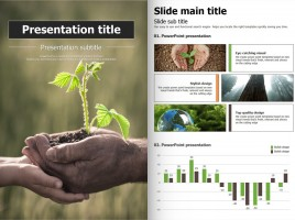 Nature Vertical PowerPoint Template